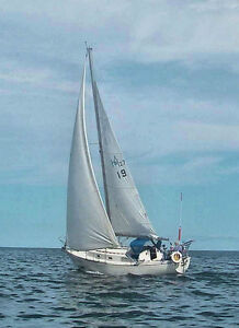 SAILBOAT, CRADLE AND TRAILER FOR SALE