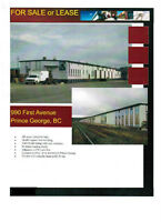 Rail Spur Industrial Building and Property for sale