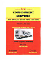 R.V.C.S. Consignment Service, RV's,Trailers,Boats,Cars,Wheelers