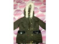 Toddler river island jacket