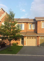 3-Bedroom Townhouse Backing on a Pond - September - Kanata