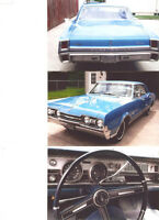 1967 Cutlass,Ready for spring Cruising just reduced 16000$