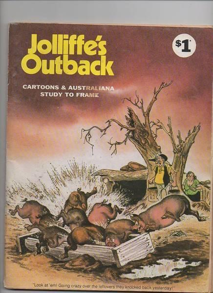 Jolliffes Outback Saltbush Bill Witchettys Tribe Comic