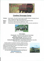"2 Day ""Cowboy Dressage Camp"""