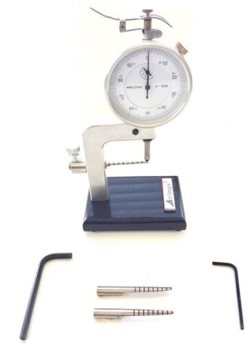 Bassoon Dial Indicator -Arb Designs-METRIC DIAL -  plus 3 styles of feeler arms