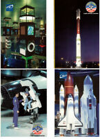 11 cartes postales camp spatial Canada à Laval, Qué.