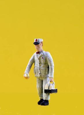 Milk Man Uniform (Milkman delivering milk in his milkman uniform....classic delivery figure)