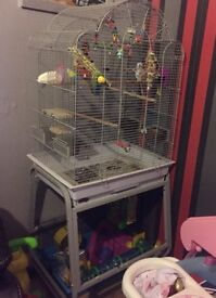 Cage on a stand