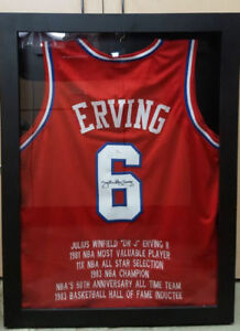 "Julius ""Dr. J"" Erving Signed Jersey"