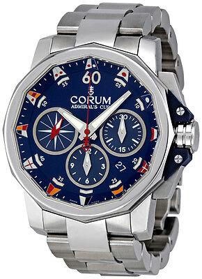 Corum Admirals Cup Challenge Chronograph Mens Watch 753.693.20/V701 AB92