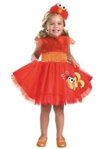 Frilly Elmo costume - 2T