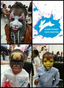 Face painting, balloon animal and Glitter tattoo package
