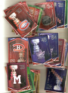 2012 Molsons Panini unopened packs of stanley cup cards