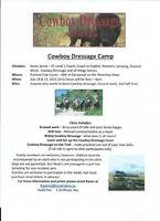 "2 Day ""Cowboy Dressage Camp"""