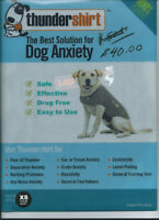 """Dog anxiety """"Thundershirt"""" from specialty pet store size XS"""