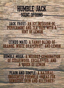 Humble Jack Beard Oil! 50ml Bottle! Pick from 4 Scents! Peterborough Peterborough Area image 2