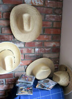 Country CD's - BONUS cowboy hats included