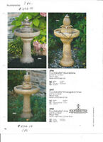 Water Fountains and Planters