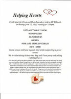 Fundraising Auction this Friday June 12th!!  Helping Hearts
