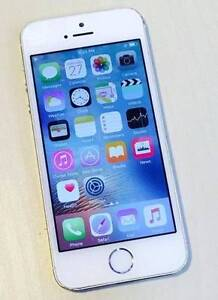 iPhone 5S 16gb Silver, Unlocked With Charger Surfers Paradise Gold Coast City Preview