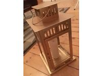 IKEA BORRBY lanterns in vintage gold used for wedding
