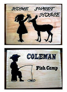 Custom hand carved personalized wood sign Peterborough Peterborough Area image 4
