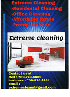 EXTREME CLEANING (residential division)