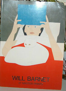 Will Barnet 27 Master Prints Soft Covered Book