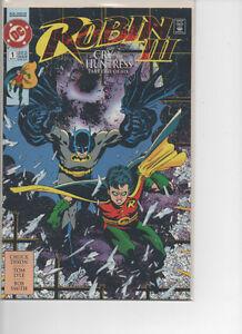 Robin III Cry of the Huntress Comics (1992)