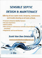 Sensible Septic Design & Maintenance