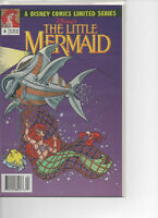 """Disney Comics NEW """"Little Mermaid"""" and """"Beauty and the Beast"""""""