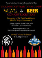 Wine and Beer Reception