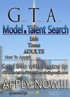 GTA Model and Talent Search 2015/16