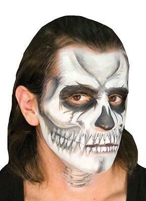SKULL SKELETON VOO DOO MAKEUP KIT COSTUME FACE PAINT - Halloween Voodoo Makeup