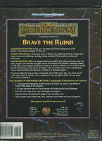 THE RUINS OF UNDERMOUNTAIN DUNGEONS DRAGONS 2e ÉDITION