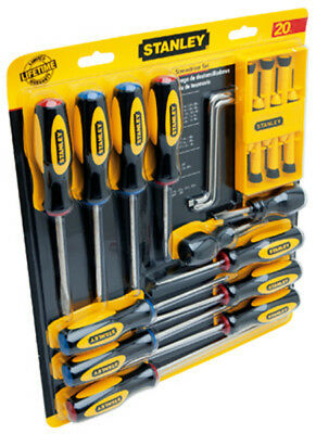 Stanley 20 Piece Versatile Screwdriver Set