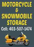 Heated & Secure Snowmobile OR Motorcycle Storage