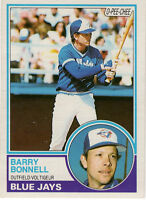 Barry Bonnell Blue Jays 1983 #281 O-PEE-CHEE