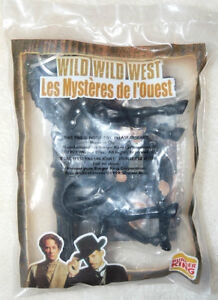 Wild Wild West Burger King Toy - James West with Horse