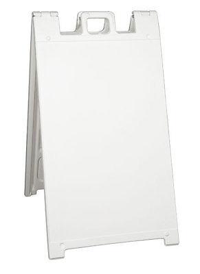 Signicade A-frame 24 X 36 Plastic Sidewalk Stand Sandwich Board Display Sign