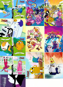 ADVENTURE TIME 54 BASE TRADING CARD SET W/WRAPPER