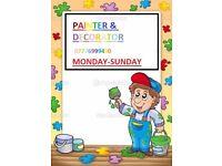professional painter&decorator & house maintenance services