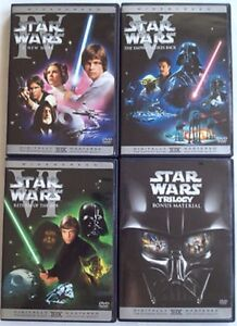 4 Great Sealed Star Wars Movie's. $20 For All 4 Movie's.
