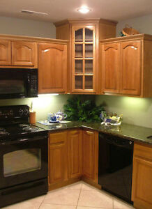 Marquis cinnamon kitchen cabinets finish sample rta on for Cathedral kitchen cabinets