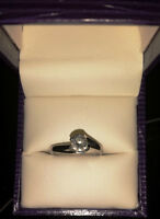 Canadian Diamond Engagement Ring (Purchased at Ben Moss)