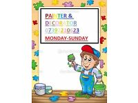 painter&decorator and handyman service in Monday-Sunday 10% discount