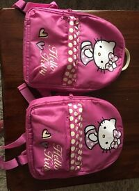 Hello kitty ruck sack
