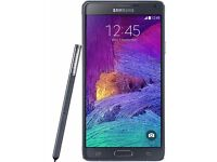 Samsung galaxy Note 4, 32gb, unlocked, used condition, black, £165 fixed price