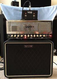 Vox Night Train 50 Valve Guitar Head 50w and 1x12 Cab