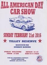 ALL AMERICAN DAY CAR SHOW ADELAIDE SA Aberfoyle Park Morphett Vale Area Preview